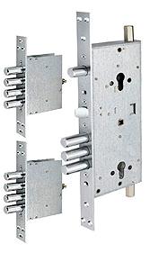 Основний двоциліндровий замок 3-направленого замикання MUL-T-LOCK® 415G