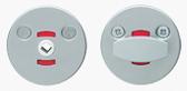 Поворотна кнопкаABLOY001 WC