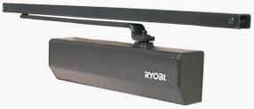 Дотягувач для внутрішніх та легких зовнішніх дверей, що потребують вишуканого дизайну RYOBI®D-2050T BC SLD (М 303 ТВС)