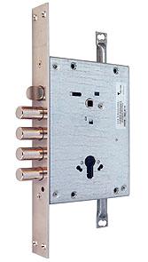 Основний замок 3-направленого замикання MUL-T-LOCK® CЕC1 / CTC1