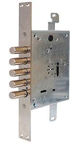Основний сувальдний замок 3-направленого замикання MUL-T-LOCK® Matrix DFMA