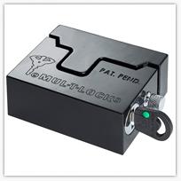 Інтегрований з протектором замок навісний (висячий) підвищеної безпеки MUL-T-LOCK® Hasp Lock