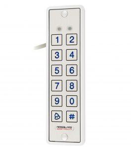 Електронний контролер ROSSLARE AYC-E65BW автономний підвищеної безпеки зовнішній код+карта EM-MARINE_125Khz з п'єзо кнопками