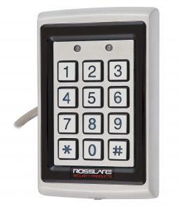 Електронний контролер ROSSLARE AYC-Q64B автономний підвищеної безпеки зовнішній код+карта EM-MARINE_125Khz з підсвіченням