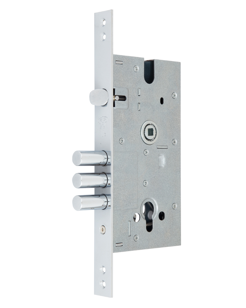 Замок врізний MUL-T-LOCK 1-WAY DIN 354M NC UNIV