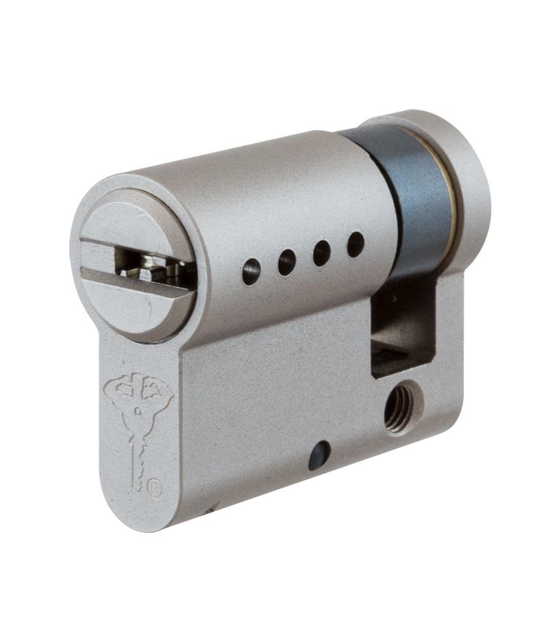Циліндр MUL‑T‑LOCK® ClassicPro DIN HALF - односторонній, ключ