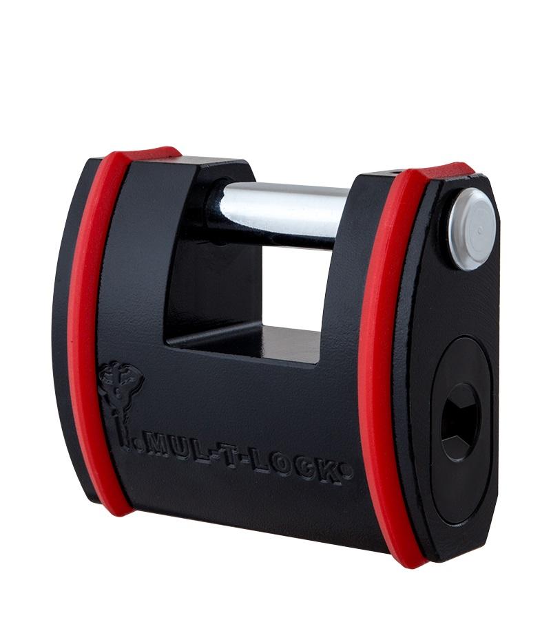 Замок навісний (висячий) підвищеної безпеки з ковзною дужкою MUL-T-LOCK® SLID (SBE)