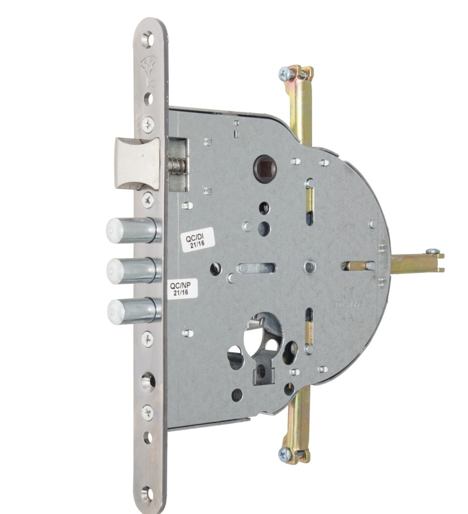 Замок врізний MUL-T-LOCK 4-WAY DIN M235/M267 CR UNIV