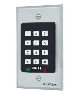 Замок електромеханічний SECURITRON GL-1 UNIV SOL 12V NC CYL_2KEY SL/SW GATE накладний