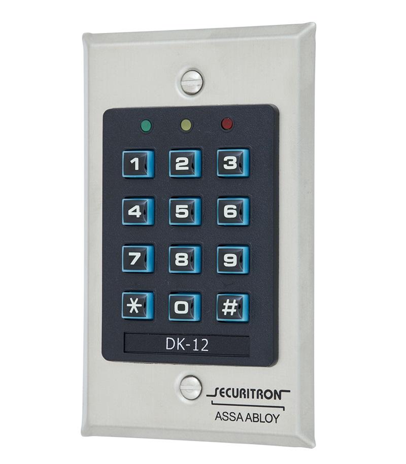 Електронний контролер SECURITRON DK-12 автономний внутрішній
