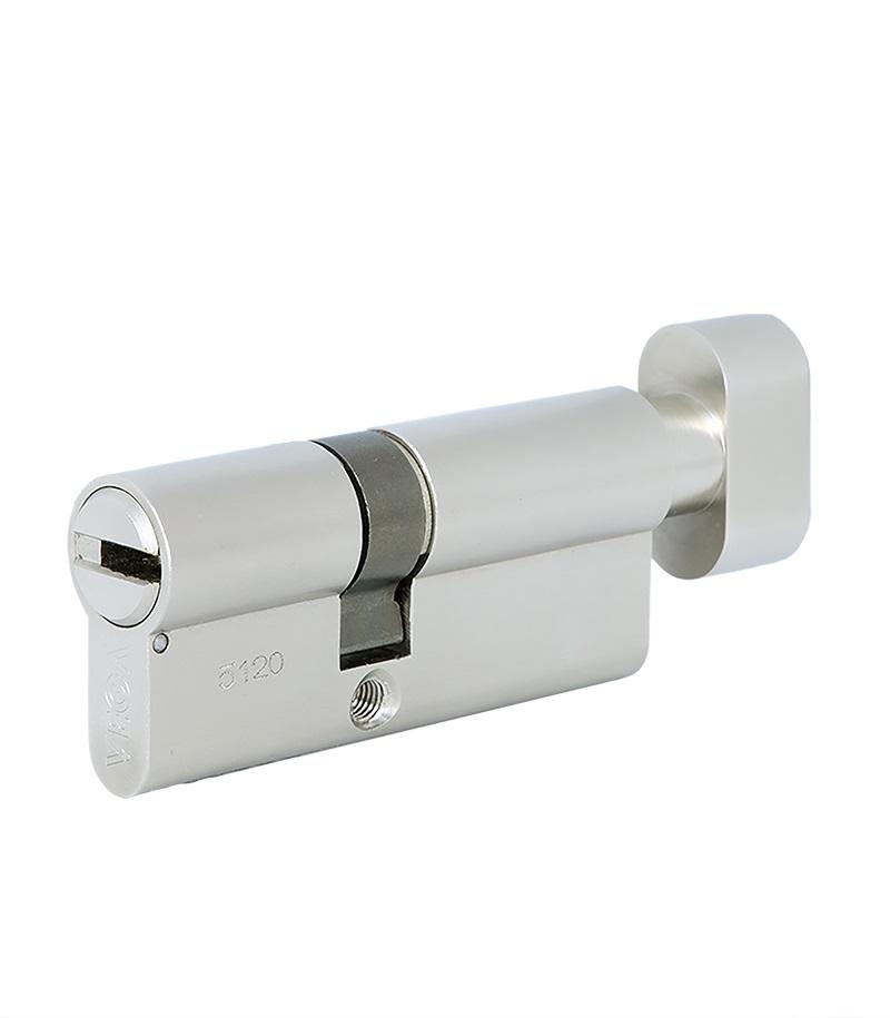Циліндр Vega VP-7 KT. Двосторонній, ключ-тумблер.