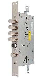 Основний двоключовий замок 3-направленого замикання MUL-T-LOCK®Matrix DFM3