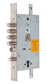 Основний двоключовий замок 3-направленого замиканняMUL-T-LOCK® Omega OFMPА3 / OFMPB3